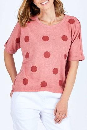 Betty Basics Chet Short Sleeve Sweater