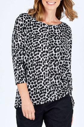 Betty Basics Atlanta 3/4 Sleeve Top