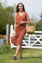 Elm Solsana Asymmetric Dress