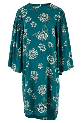 handpicked by birds Bell Sleeve Floral Dress