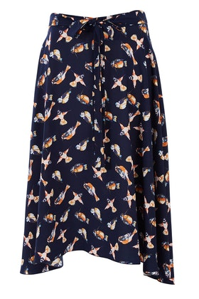 handpicked by birds Tie Waist Skirt