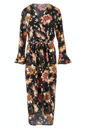 boho bird Freedom Faux Wrap Dress