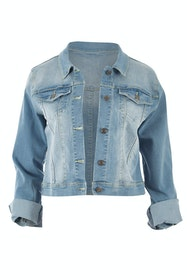 Heartbeat Denim Jacket