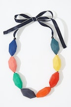 Ruby Olive Art Series Party Pod Necklace
