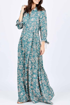 boho bird Lust For Life Maxi Shirt Dress