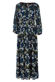 Emma Dress Midnight Botanical