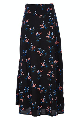 that bird label Rosie Maxi Skirt Berry Picnic