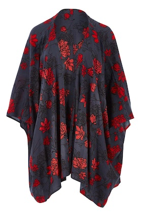 that bird label Viola Kimono Radiant Floral