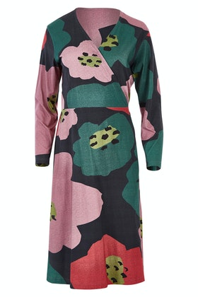 Scandi bird Solsken Jersey Wrap Dress