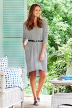 bird keepers The Striped Everyday Tunic Dress