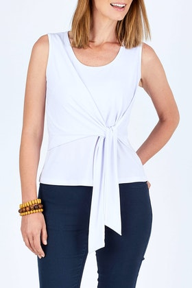 bird keepers The Tie Front Tank