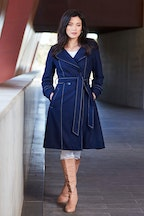 bird by design The Divine Wool Blend Coat
