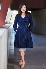 The Divine Wool Blend Coat
