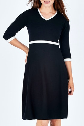 bird by design The Fit And Flare Knit Dress
