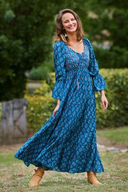 12682767ac9c Rasaleela Farrah Maxi Dress - Womens Maxi Dresses - Birdsnest Online ...