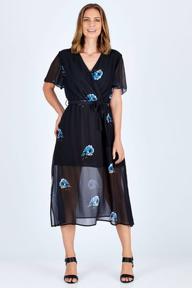 Fate + Becker Soho Midi Dress