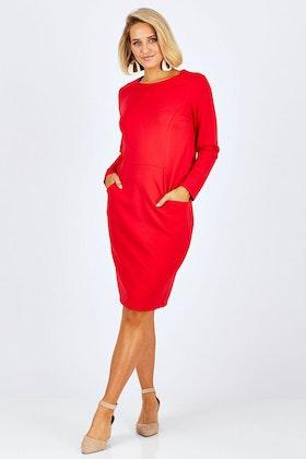 Cordelia St Pocket Shift Dress