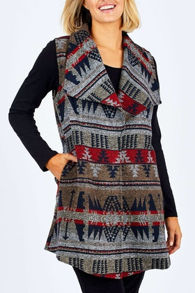 Cordelia St Aztec Vest