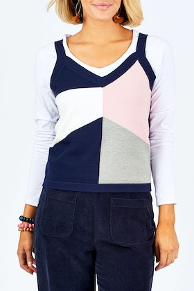 handpicked by birds Block Vest