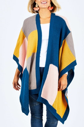 handpicked by birds Colour Block Wrap