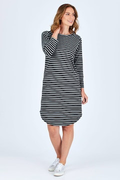 The Curved Midi Dress