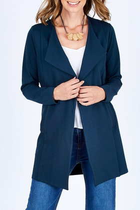 bird keepers The Relaxed Ponte Jacket