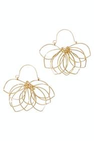 Lilly Lotus Earrings