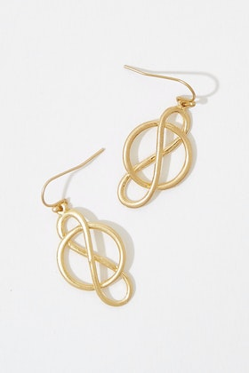 GxG Collective Karina Small Vermeil Earrings