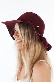 New Ever After Wide Brim Wool Felt Hat