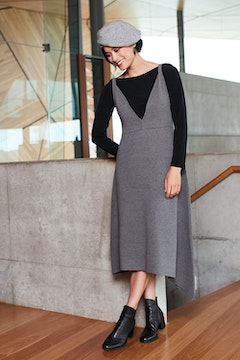 The Pinafore Knit