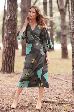 Frukttradgard Wrap Dress