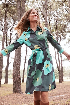 Scandi bird Minnen Shirt Dress
