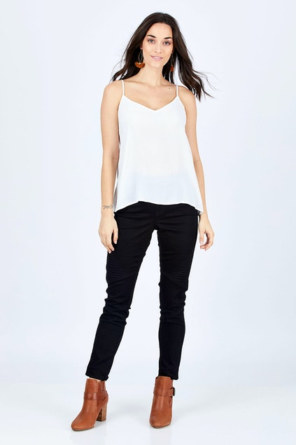 aebd051395fcf boho bird Wild Plains Stitched Jeggings - Womens Skinny Jeans ...