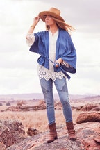 boho bird First Love Kimono Jacket