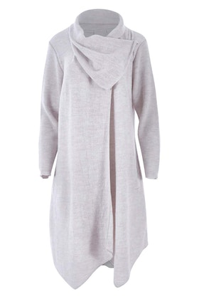 See Saw Cowl Neck Coat