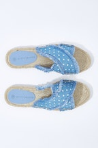 Betty Basics Seeker Espadrille Slide