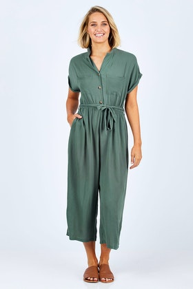 50820b8291a4 Sass Fixation Buttoned Jumpsuit