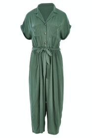 Fixation Buttoned Jumpsuit