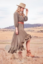 boho bird Take Me To Your Castle Maxi