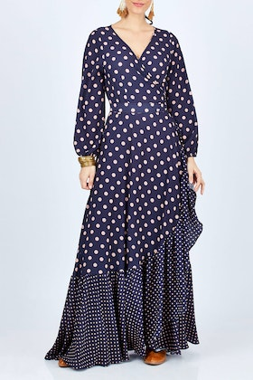 boho bird Spotty About You Maxi Dress