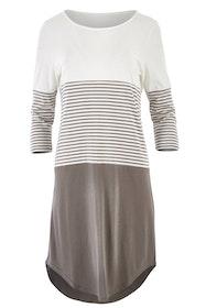 The Contrast Stripe Dress