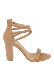 Alpha Leather Heel