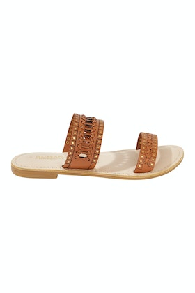 Human Premium Broadway Leather Sandal