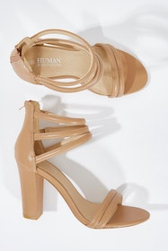 Alpha Leather Heel