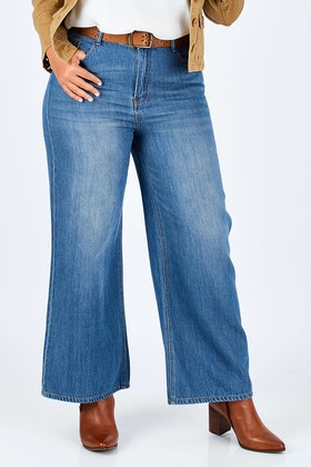 boho bird Happy Me Wide Leg Jeans