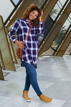 handpicked by birds Printed Tunic