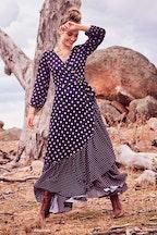 boho bird Spotty About You Maxi Dress