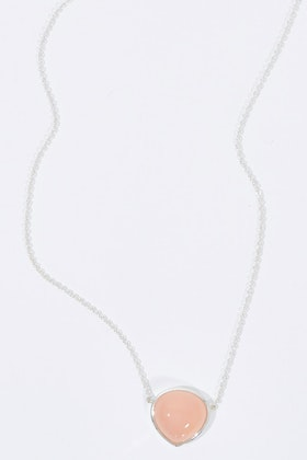 Najo Promenade Pink Chalcedony Necklace