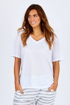 Betty Basics Messina V Neck Tee