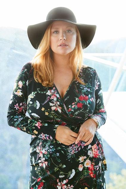 4a0a5ef8f26 Belle bird Belle Black Floral Wrap Dress - Womens Knee Length Dresses -  Birdsnest Online Shop